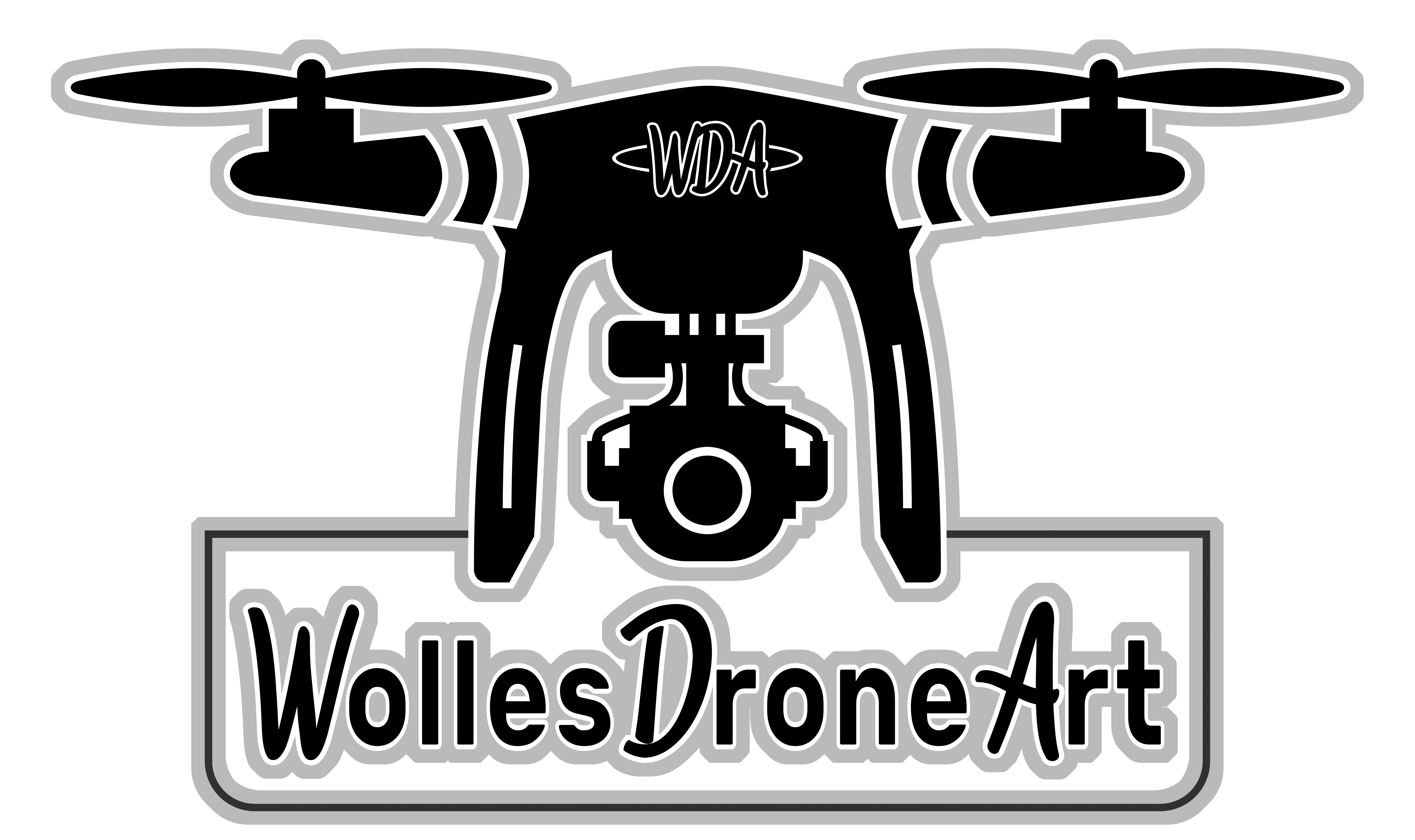 Wolles Drohnenart NEU grau